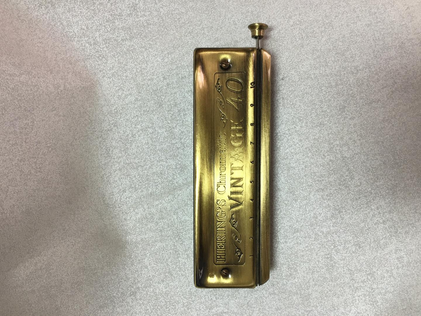 HERING HARMONICA VINTAGE ANTIQUE CHROMATIQUE DIATONIQUE